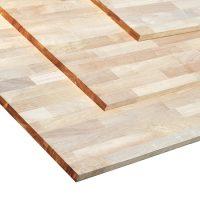 고무나무(Rubberwood)계단판재(18*1200*2400)